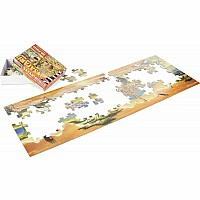 100 pc Safari Floor Puzzle