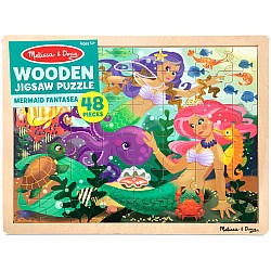 48 pc Mermaid Fantasy Puzzle