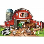 Busy Barn Shaped Puzzle (32pc)