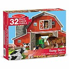 Busy Barn Shaped Puzzle