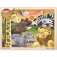 African Plains Jigsaw (24 pc)