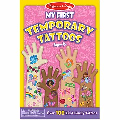 My First Temporary Tattoos: 100+ Kid-Friendly Tattoos - Rainbows, Fairies, Flowers, and More