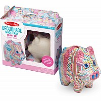 Decoupage Made Easy - Piggy Bank