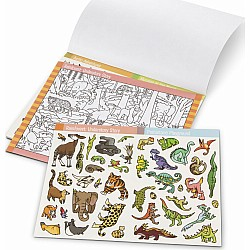 Seek & Find Sticker Pad- Animal