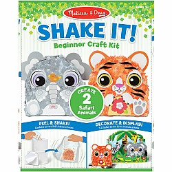 Shake It! Safari Animals Beginner Craft Kit