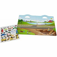 Puffy Sticker Play Set- Vehicles