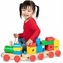 Jumbo Wooden Stacking Train - Classic