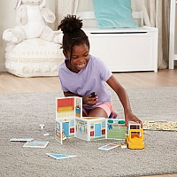 Magnetivity Magnetic Building Play Set - School