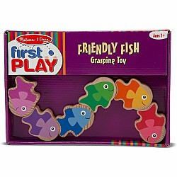 Friendly Fish Grasping Toy