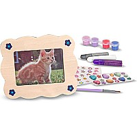 Melissa and Doug: Decorate Your Own- Wooden Picture Frame