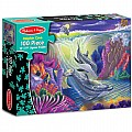 0100 pc Dolphin Cove Cardboard Jigsaw