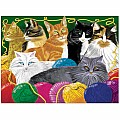 0200 pc Picture Purr-fect Cardboard Jigsaw