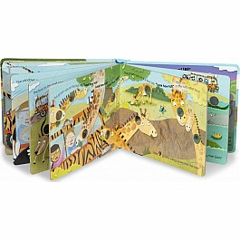 Poke-a-Dot - The Wheels on the Bus Wild Safari Board Book