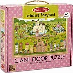 Natural Play Floor Puzzle: Princess Fairyland