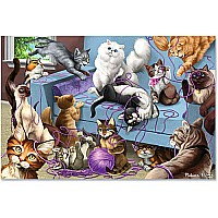 0200 PC Feline Fun Jigsaw
