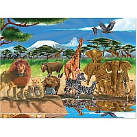 0300 PC On the Savannah Cardboard Jigsaw