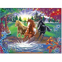 0300 PC River Run Cardboard Jigsaw
