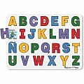 See-inside Spanish Alphabet Peg