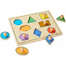 Jumbo Knob Puzzle - Geometric Shapes