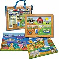 Magnetic Animal Habitats Set