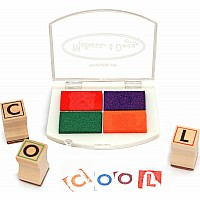 Alphabet Stamp Set, 56 letters, Melissa and Doug