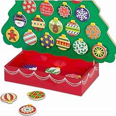 Countdown to Christmas - Wooden Advent Calendar