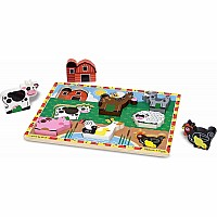 M&D Farm Chunky Puzzle - 8 Pieces