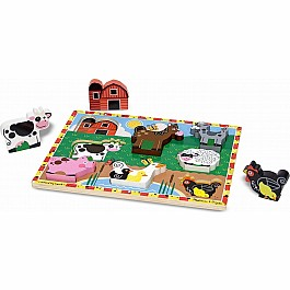 Chunky Puzzle Farm Animal