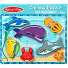 Chunky Puzzle, Sea Creatures