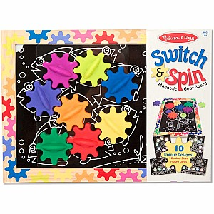 Switch & Spin Magnetic Gear Board