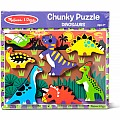 Chunky Puzzle-Dinosaurs