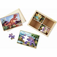 Dinosaurs Jigsaw Puzzle In A Box
