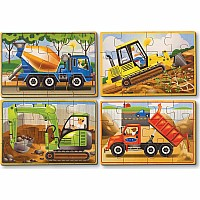 Construction Jigsaw Puzzle In A Box