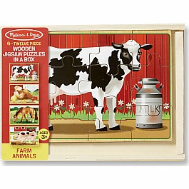 Farm Puzzle in a box
