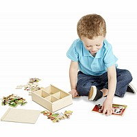 Farm Animals Jigsaw Puzzle In A Box