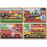 Vehicles Jigsaw Puzzle In A Box