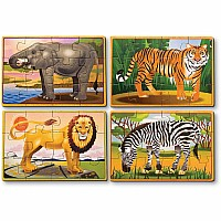 Wild Animals Puzzle Box