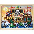 Pirate Adventure Jigsaw (48 PC
