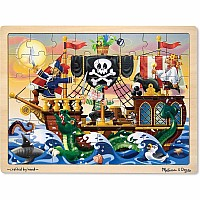 48 Piece Puzzle, Pirate Adventure