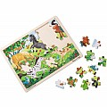 Frolicking Horses Jigsaw (48 pc)