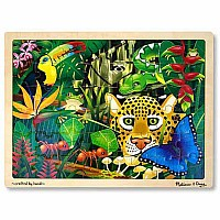 0048 Piece Wooden Jigsaw Puzzle Rain Forest