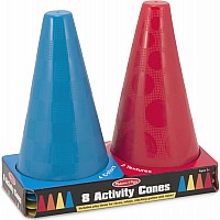 8 Activity/Soccer Cones