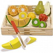 Cutting Fruit Wooden Box