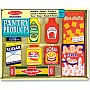 Melissa and Doug: Wooden Pantry Products Set 4077