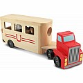 Horse Carrier Wooden Vehicle - Melissa & Doug 4097