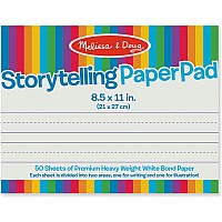 "Storytelling Paper Pad (8.5""x11"")"