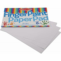 Finger Paint Paper Pad (12