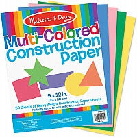 Multi-Color Construction Paper