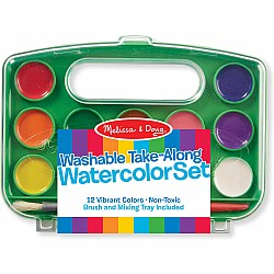 Take-Along Watercolor Paint Set