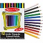 Jumbo Triangular Colored Pencils (set of 12)